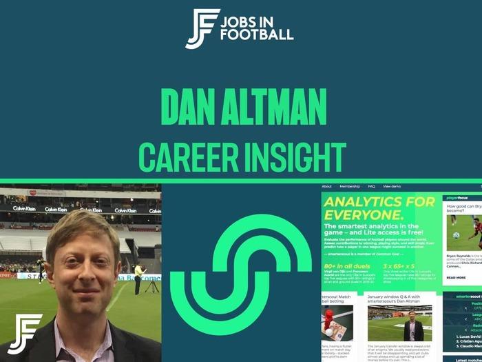 Dan Altman: Founder, smarterscout.com