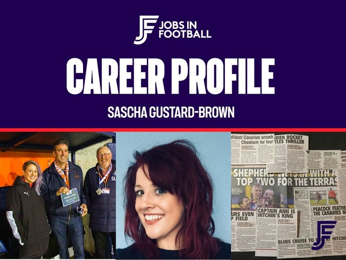 Career Profile: Sascha Gustard-Brown