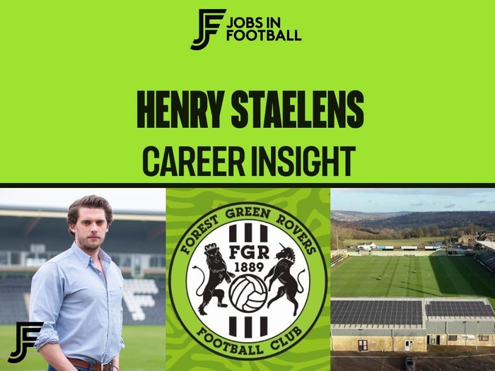 Henry Staelens: CEO, Forest Green Rovers