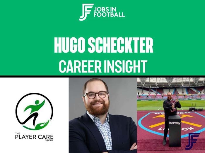 Hugo Scheckter - Player Care Expert