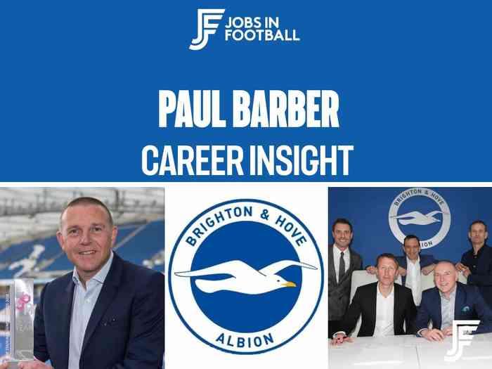 Paul Barber: CEO, Brighton & Hove Albion FC
