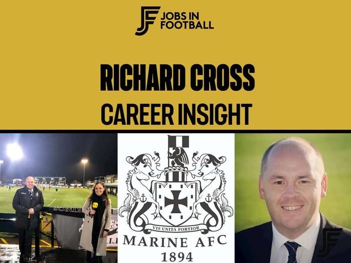 Richard Cross - Club Secretary, Marine FC
