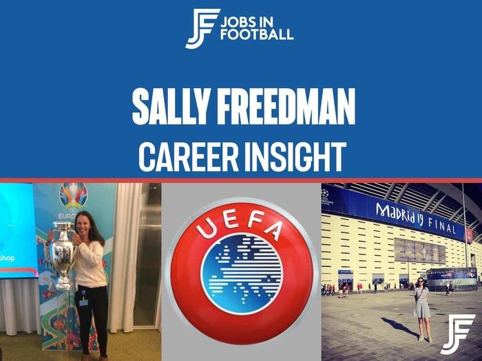 Sally Freedman: Online Promotion Manager, UEFA