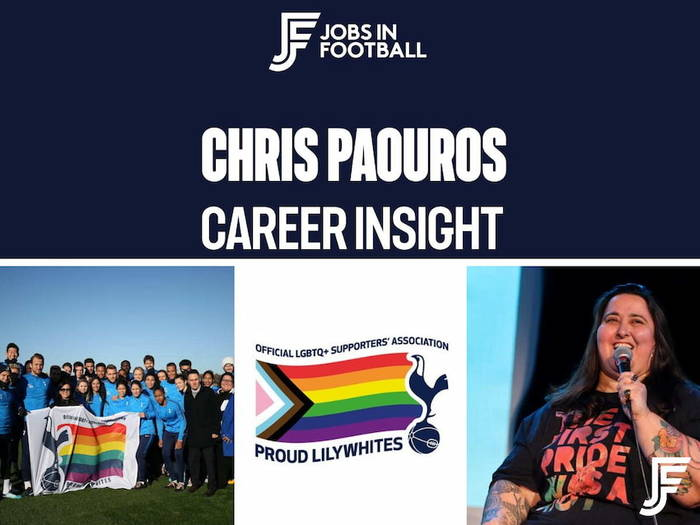 Chris Paouros: Co-Founder/Co-Chair of Proud Lilywhites