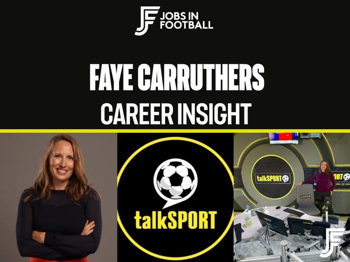 Faye Carruthers: TV & Radio Sports Broadcaster