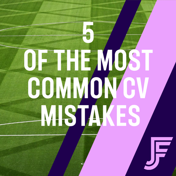 5 Of The Most Common CV Mistakes