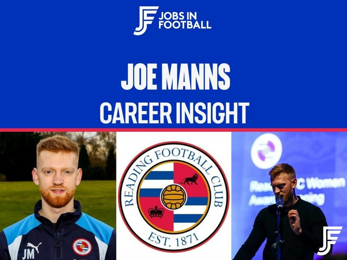 Joe Manns: 1st Team Recruitment Coordinator, Reading FC